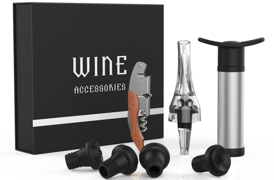 accesorios y complementos para vino