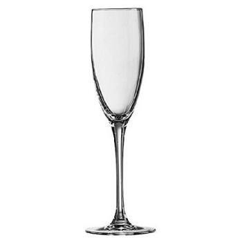 Copa de vino espumoso y champán