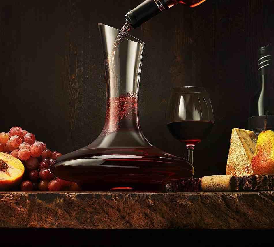 decantador para vino