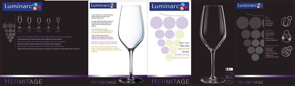 Set de copas hermitage