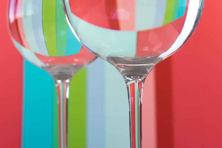 Copas de vino gigantes