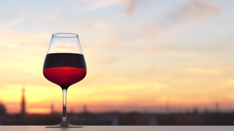 Copa de vino grande