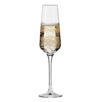 copas de vino espumoso brindando
