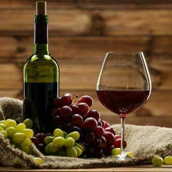 Copa de vino rosado original