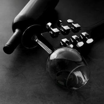 Copa de vino tinto tipo Burdeos