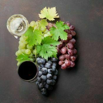 Copa de agua y vino