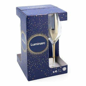 Copa flauta de cristal Luminarc