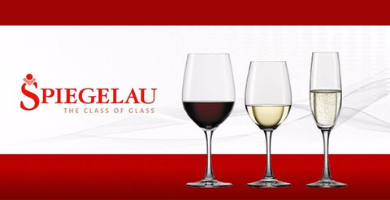Copas Spiegelau wine glasses