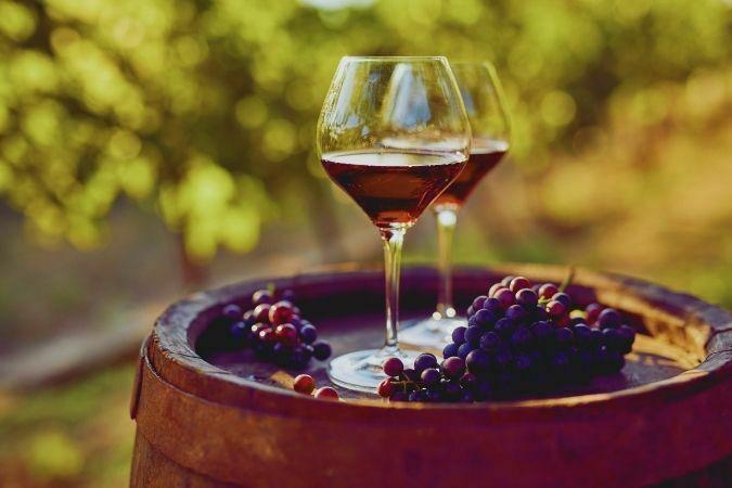 Tipos de copas de vino - Copa de cristal Borgoña
