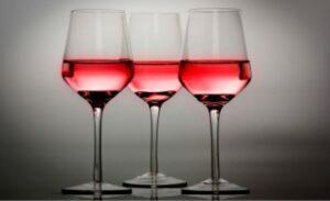 Copas de vino de cristal