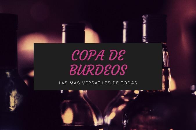 Copas Burdeos para vinos tintos