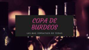 copa de vino tinto burdeos