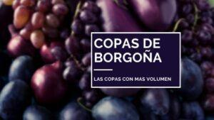 copas de vino tipo borgoña
