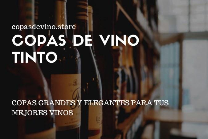 Comprar copas de vino tinto
